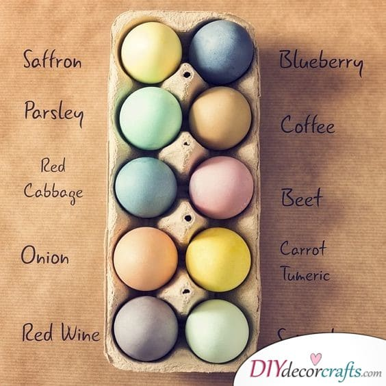 Natural Dye - A Traditional Way of Decorating Eggs