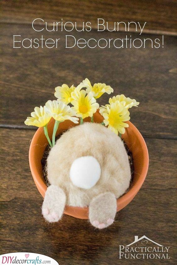 Digging for Easter Eggs - Funny Easter Crafts for Adults