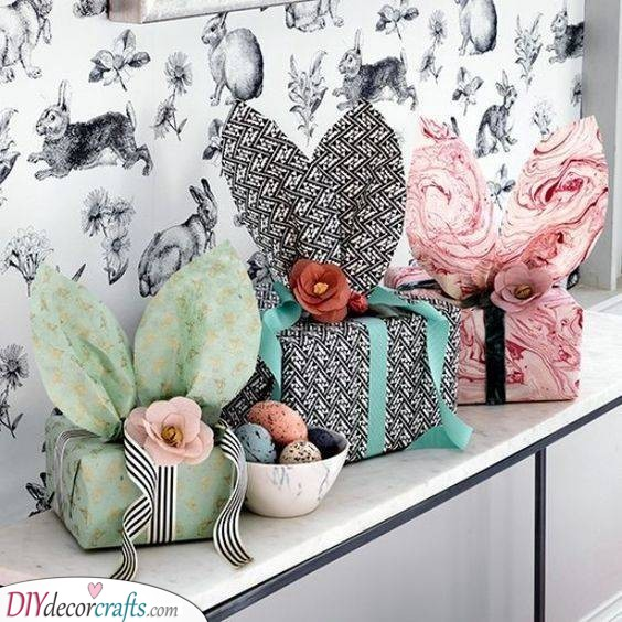 Bunny Boxes - Cute Ways of Wrapping Up Your Gifts