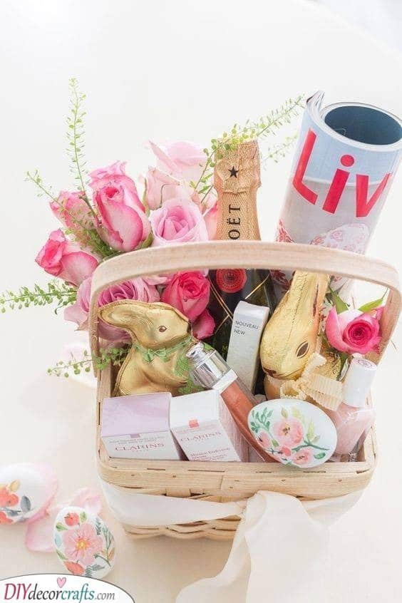 Baskets Full of Goodness - Adult Easter Baskets