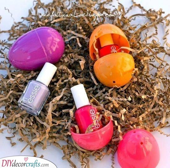 Hatching Some Nail Polish - Creative Easter Gifts for Adults