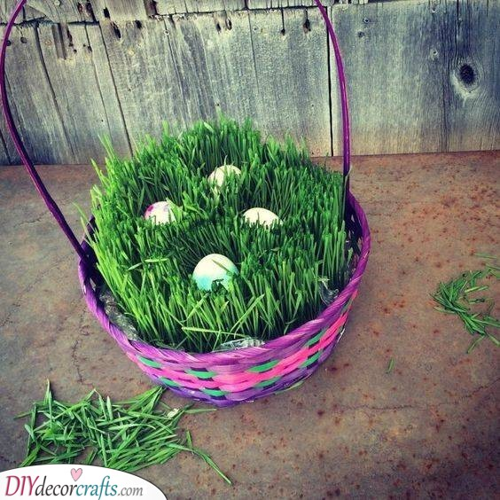 A Basketful of Eggs - Easter Crafts for Adults