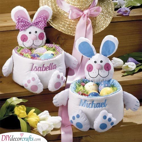 Personalised Easter Baskets - Awesome Easter Gift Ideas for Kids