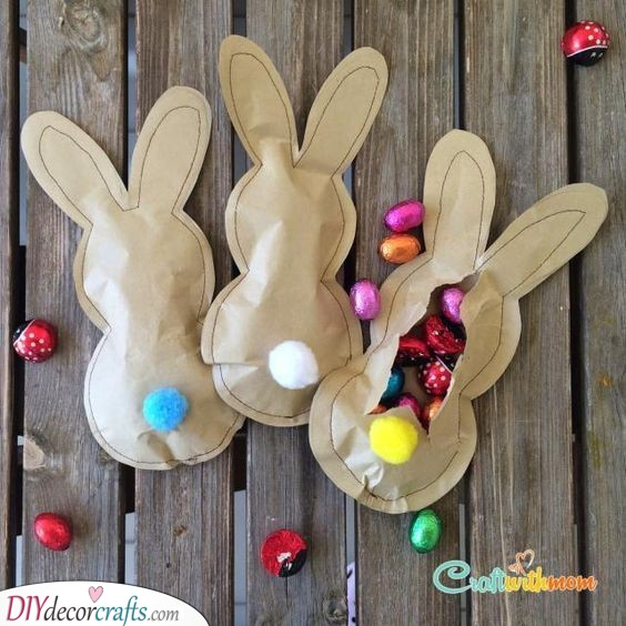 Paper Bunnies - Easter Presents for Kids