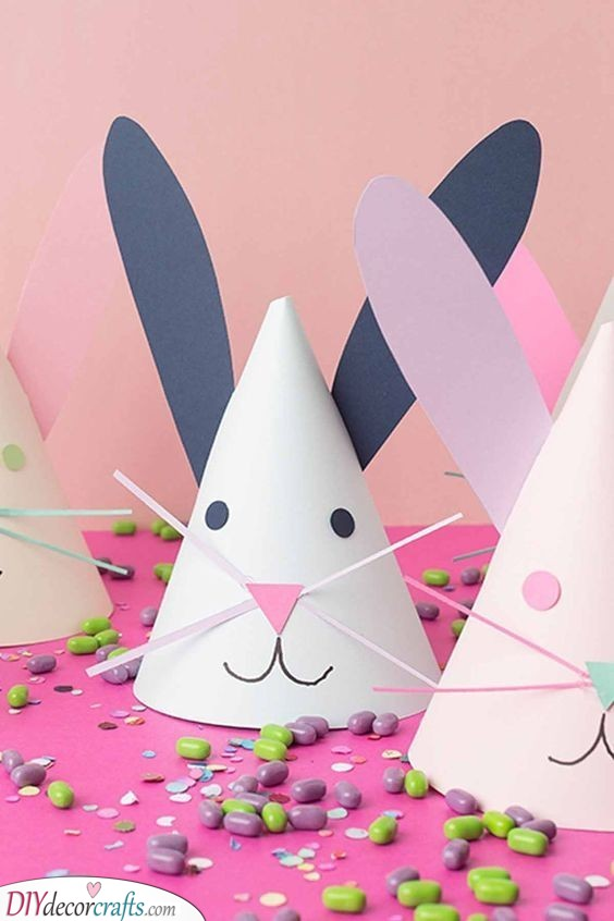 Bunny Party Hats - Fun Easter Presents for Kids