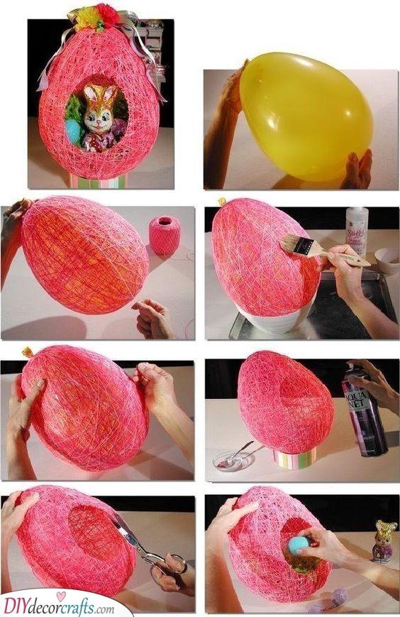 Nest Full of Eggs - DIY Easter Presents for Kids