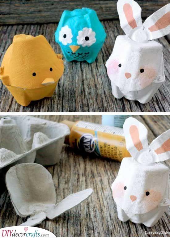Egg Carton Animals - Unique Easter Presents for Kids