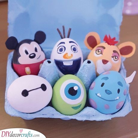 Disney Themed Eggs - Favourite Characters