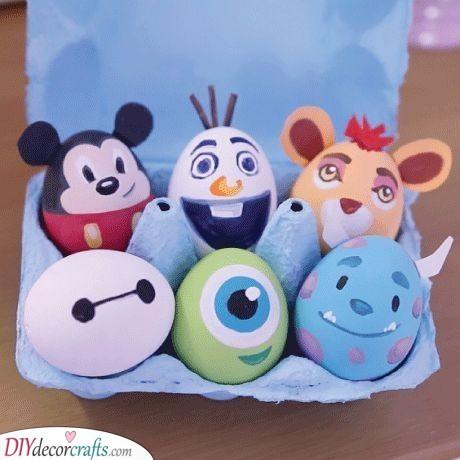 Disney Themed Easter Eggs - Easter Presents for Kids
