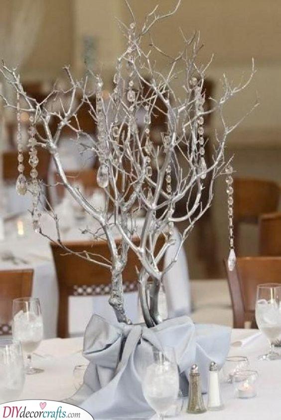 Dazzling Trees - Unique Silver Beauty