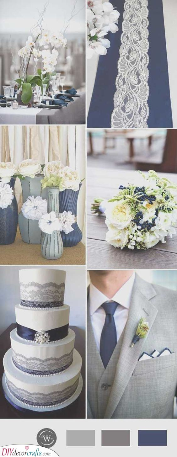 Silver on Everything - Silver Wedding Decorations