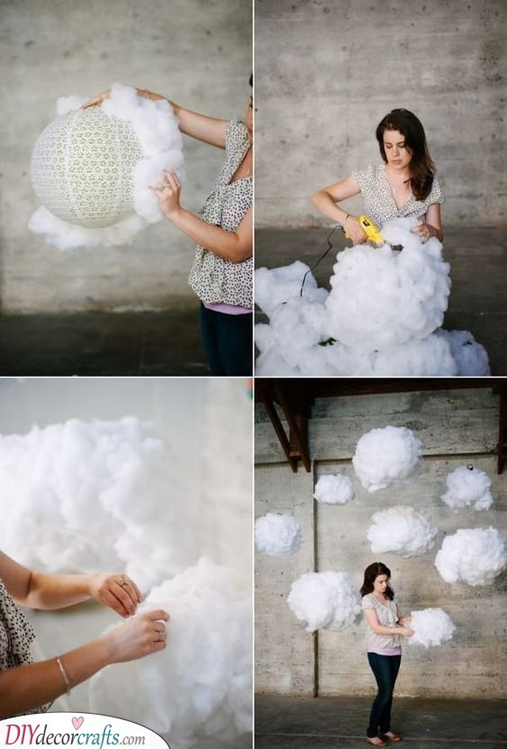 Fluffy Clouds - Beautiful and Unique Ideas