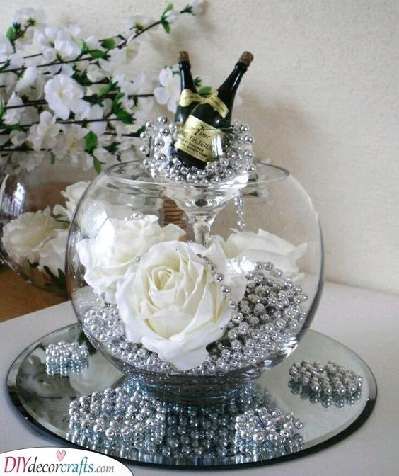 Silver Pearls - Fantastic Silver Wedding Ideas