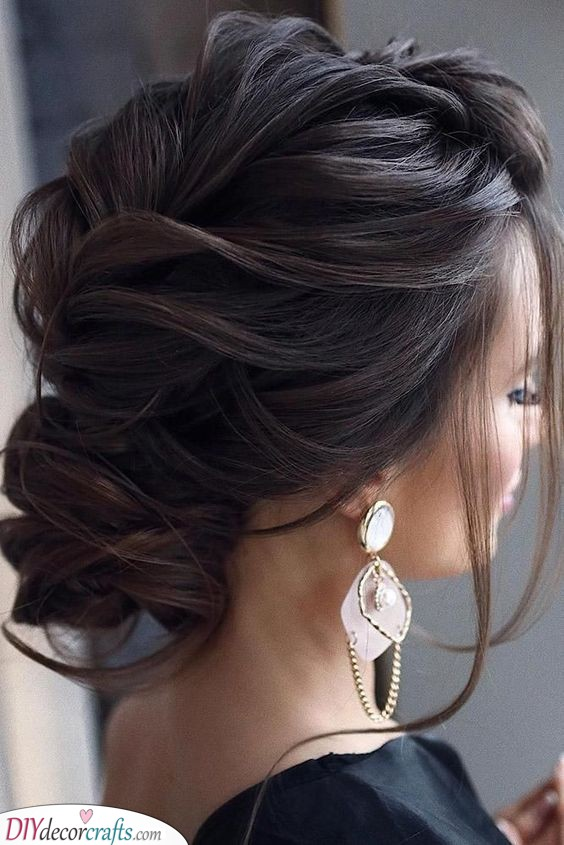 Beautifully Braided Bun - Amazing Hairstyles for the Mother of the Bride