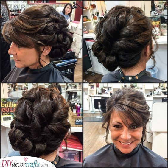 Braided Updo - Lovely Hairstyles for the Mother of the Bride