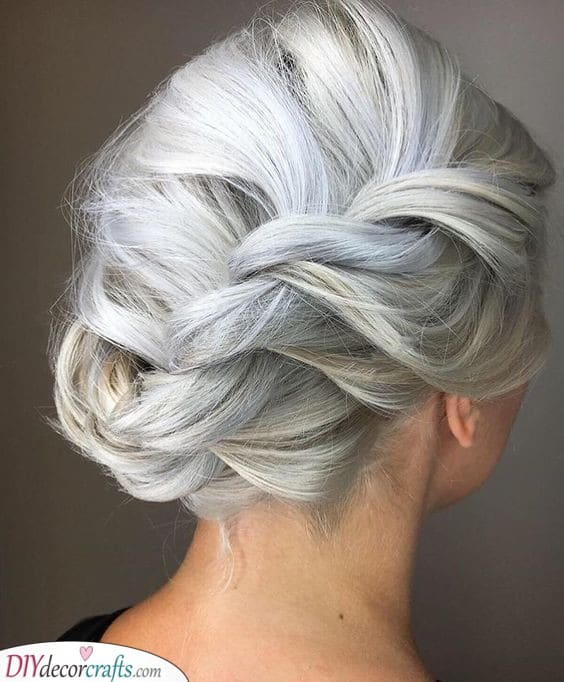 Interesting Braided Updo - Creative and Great