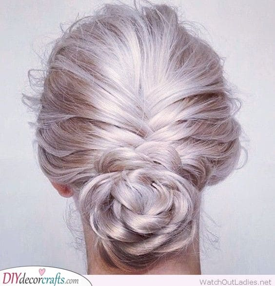 Braid into a Bun - Hairstyles for the Mother of the Bride