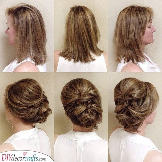 Unique Updo - Gorgeous Mother of Bride Hairstyles