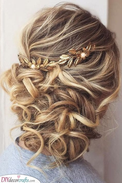 Gold Accessories - Hairstyles for the Mother of the Bride