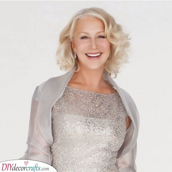 Curls for Short Hair - Mother of the Bride Hairstyles for Curly Hair