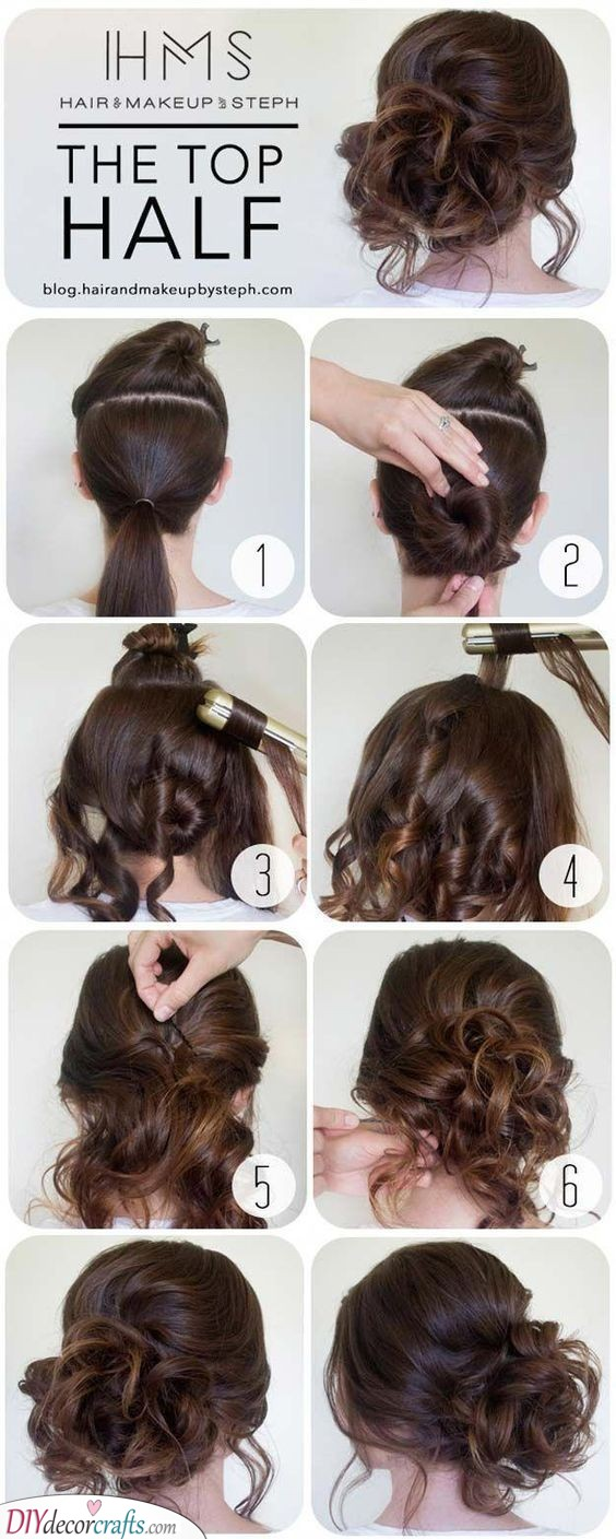 Beautiful Updo - Gorgeous Hairstyles for the Mother of the Bride