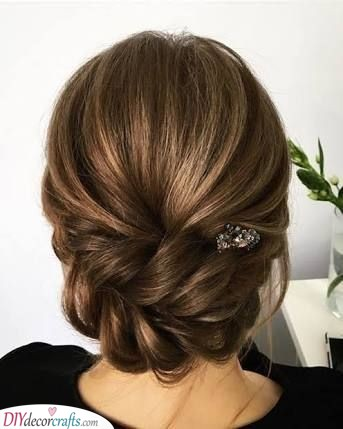 A Beautiful Chignon - Mother of the Bride Hairstyles