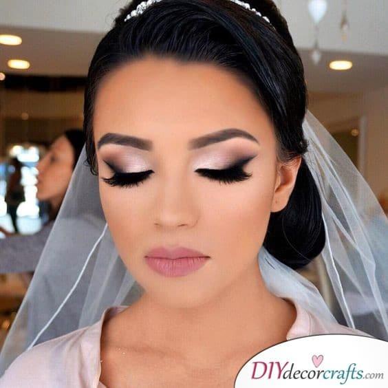 Fancy and Elegant - Dazzling Bridal Makeup Ideas
