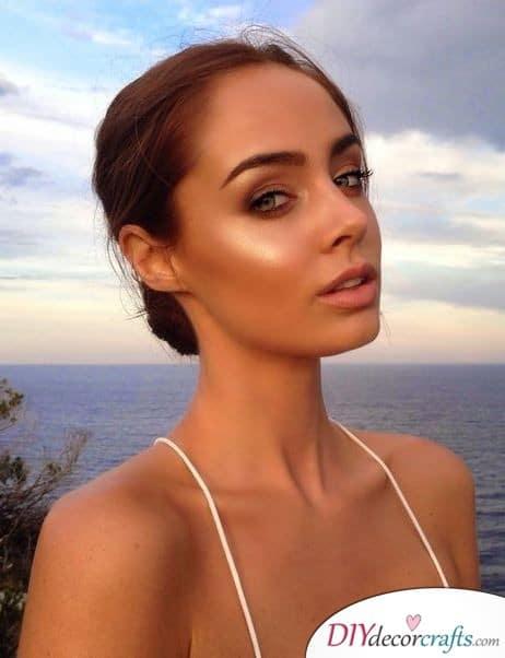Sunkissed Makeup - Wedding Makeup Ideas