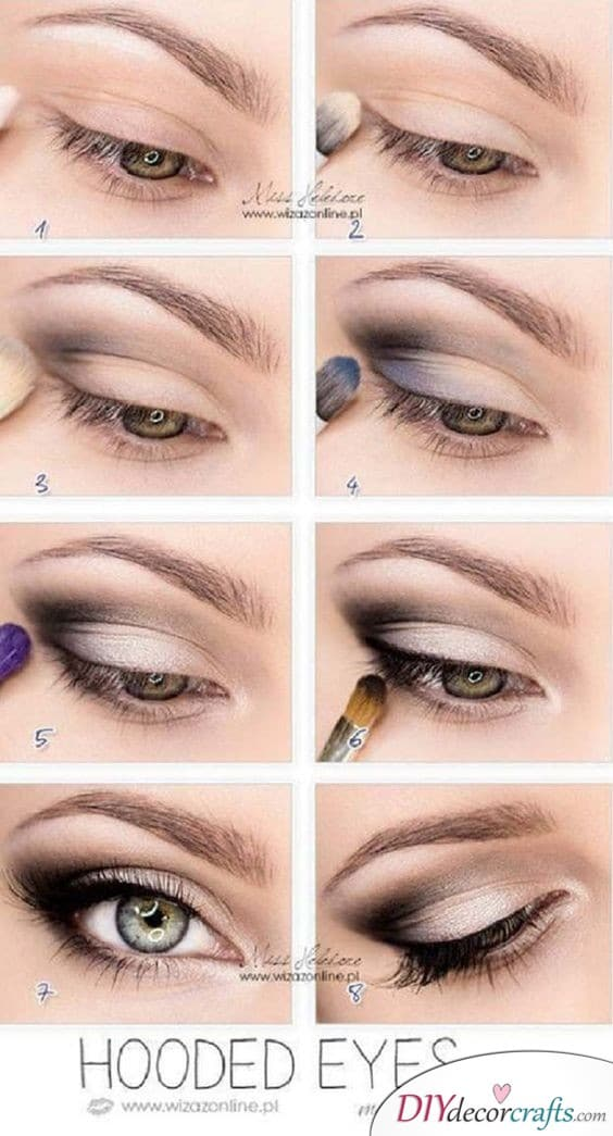 Hooded Eyes - Lovely and Pretty
