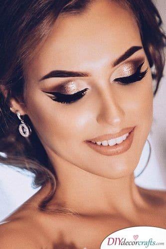 Intense Shine - Beautiful Wedding Makeup Ideas