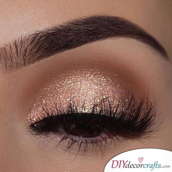 Golden Glow - Bridal Makeup Ideas