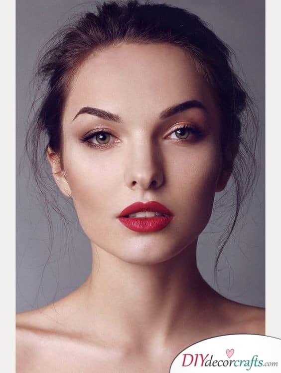 All About the Lips - Bridal Wedding Makeup
