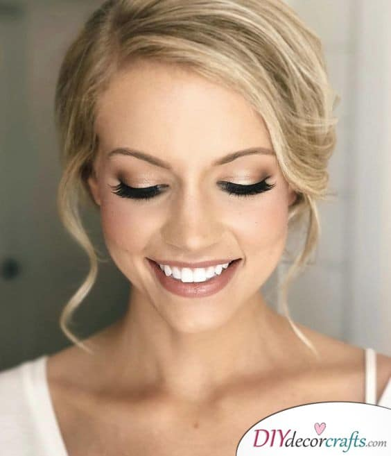 Brilliant and Simple - Great Wedding Makeup Ideas