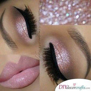 Sparkling Pink - Going for Glitter