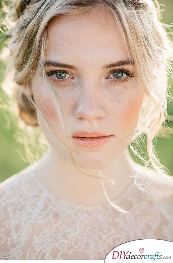 Natural and Unique - Simple Wedding Makeup