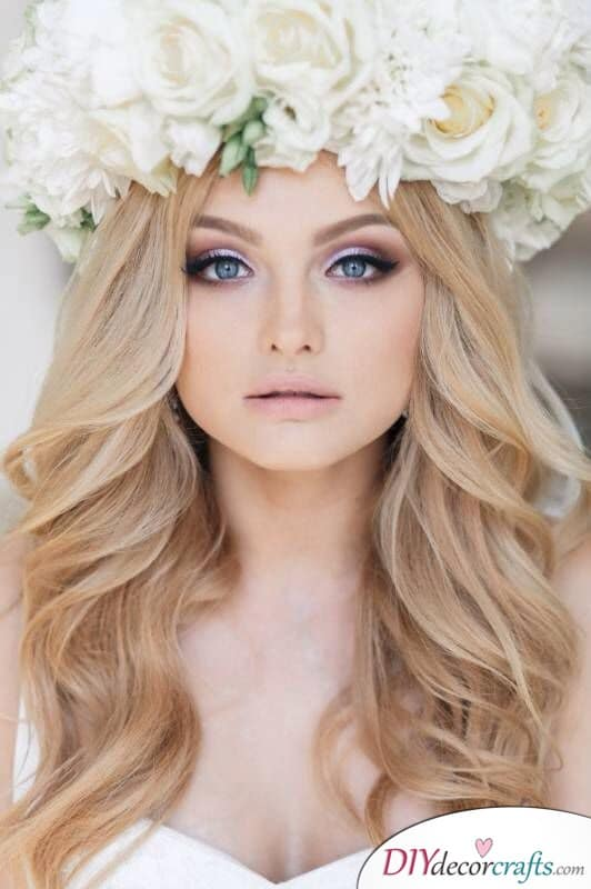 Lovely Lilac - Bridal Makeup Ideas