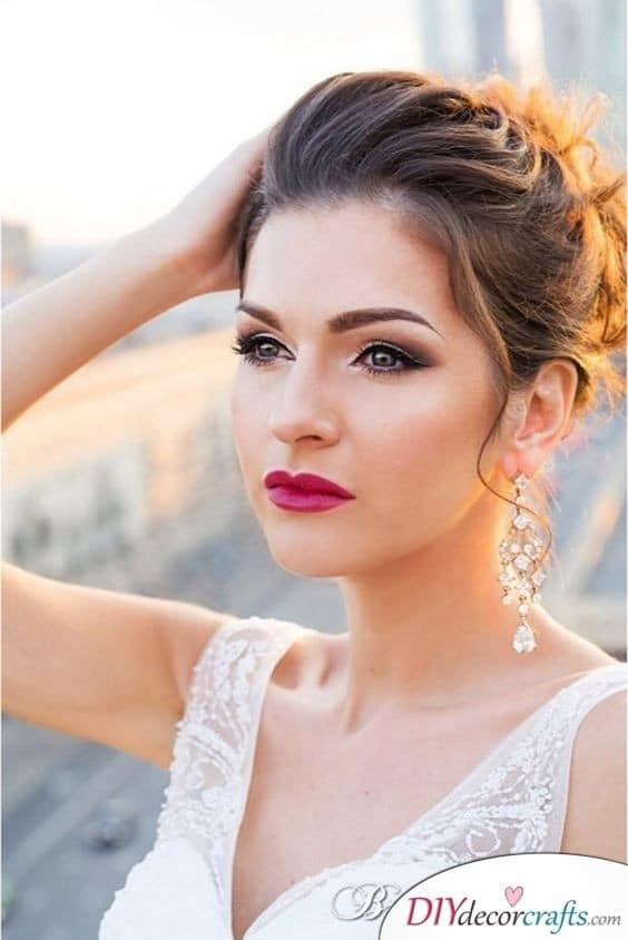 Romantic Glow - Stunning Wedding Makeup Ideas