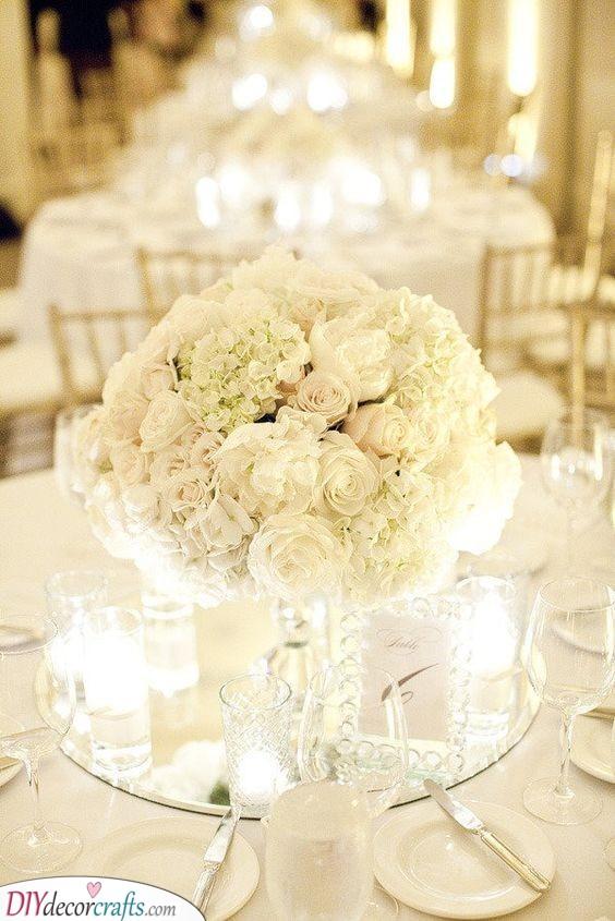 Elegant Bouquets - Beautiful DIY Table Centerpiece Ideas