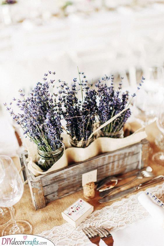 Pretty Provence - DIY Table Centerpiece Ideas