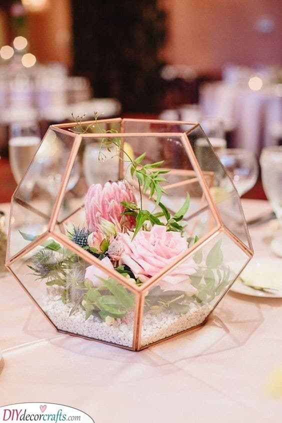 Rose Gold - Splendid DIY Wedding Centerpieces