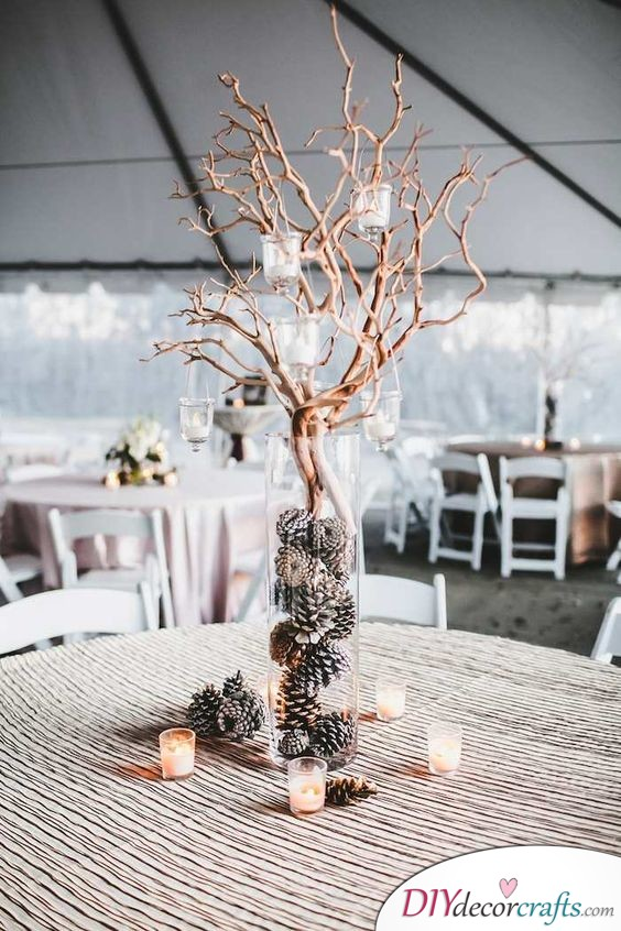 Amazing Tree - Creative Ideas for Centerpieces