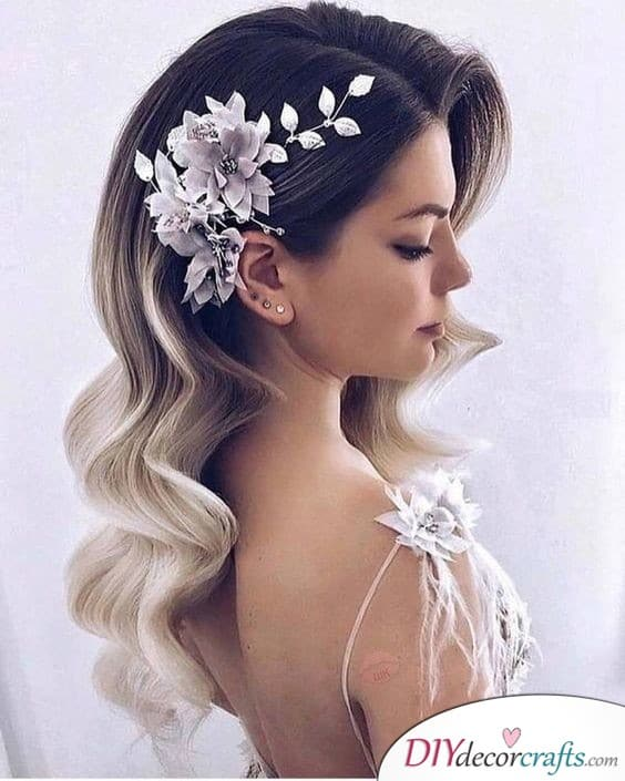 Elegant and Floral - Wedding Hair Ideas
