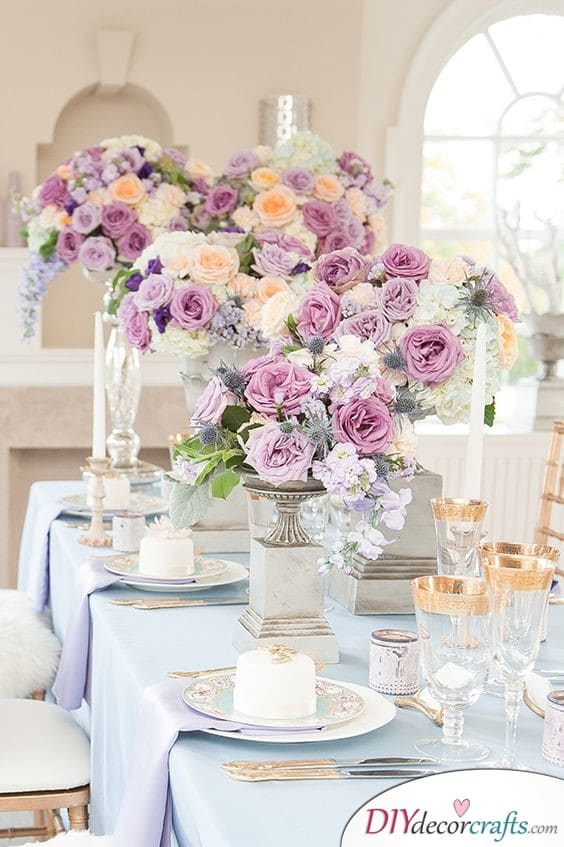 Lilac, Pink and Yellow - Floral and Fabulous
