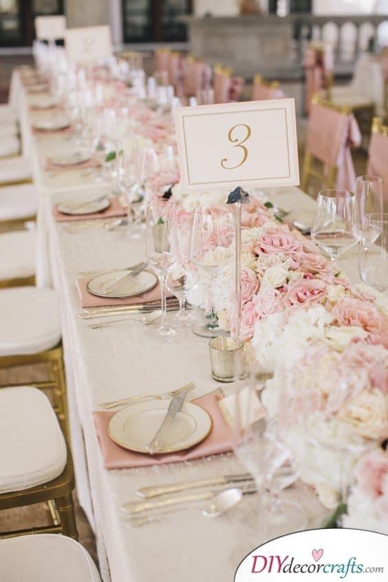 Stunning Decor - Glamorous Wedding Table Decoration Ideas