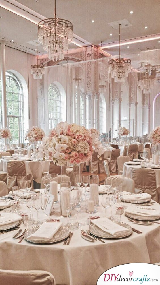 Pink Decadence - Gorgeous Wedding Table Decor