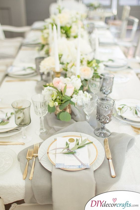 Bohemian and Natural - Great Ideas for Wedding Table Decor