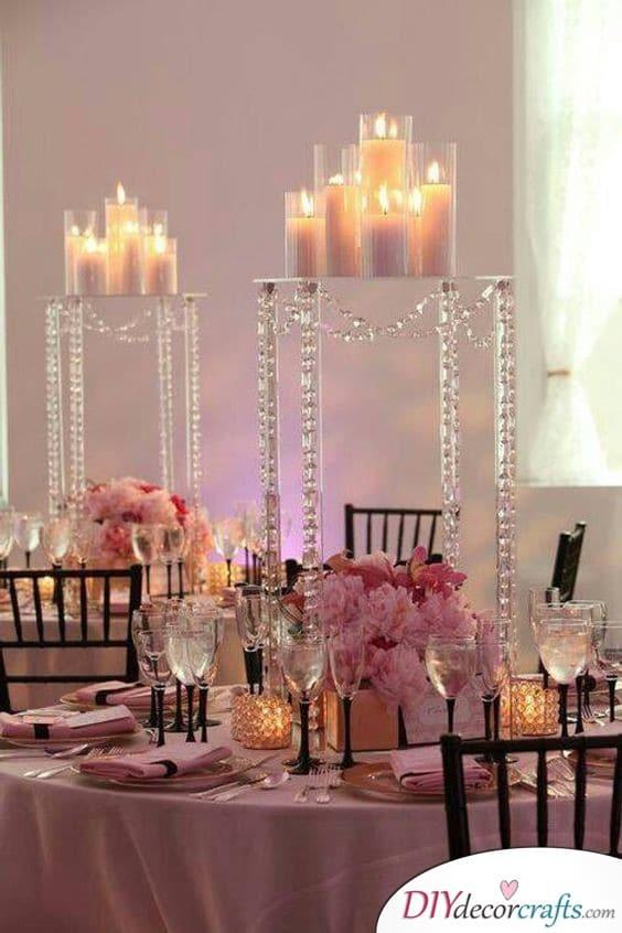 Radiance Illuminated - Simple Wedding Table Decorations