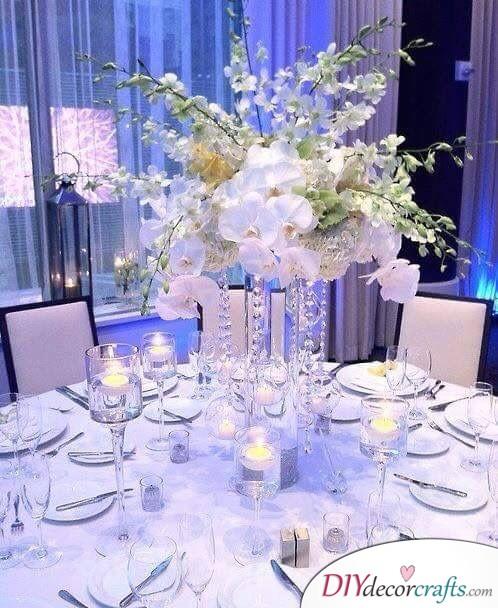 Silver, Blue and White - Wedding Wonderland