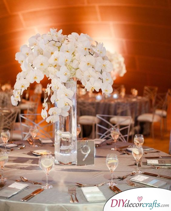 Modern and Refined - Simple Wedding Table Decorations