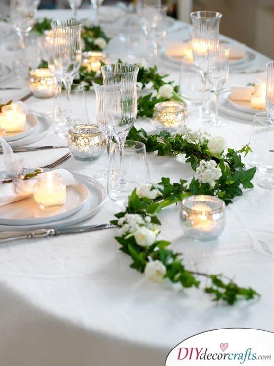 Romantic Vines - Dreamy Table Decorations